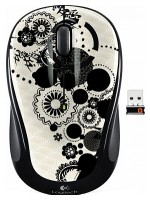 Logitech Wireless Mouse M325 Ink Gears White-Black USB