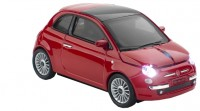 Click Car Mouse FIAT 500 Red USB