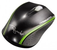 HAMA Wireless Laser Mouse Pequento 2 Black-Green USB
