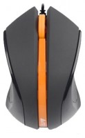 A4Tech D-311 DustFree HD Mouse Black-Orange USB