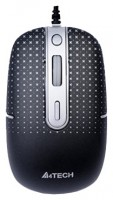 A4Tech D-557FX Holeless Mouse Black USB
