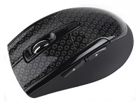 Intro MW206 Wireless Black-1C mouse Black USB
