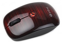 Intro MW205 mouse Black-Red USB