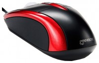 Revoltec Wired Mini Mouse W103 Red USB