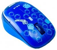 e-blue Monster Babe EMS103BL Blue USB