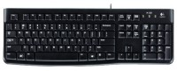 Logitech Keyboard K120 Black USB