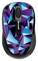 Microsoft Wireless Mobile Mouse 3500 Artist Edition Matt Moore Blue-Black USB