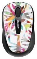 Microsoft Wireless Mobile Mouse 3500 Artist Edition Kirra Jamison White-Black USB