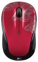 Logitech Wireless Mouse M325 Red-Black USB