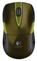 Logitech Wireless Mouse M525 Green-Black USB