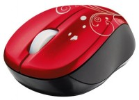 Trust Vivy Wireless Mini Mouse Red USB