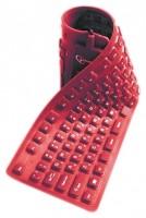 Gembird KB-109F-R-RU Red USB+PS/2