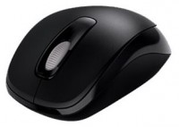 Microsoft Wireless Mobile Mouse 1000 Black USB