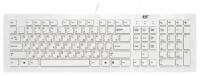BTC 6311U Ultra Slim Keyboard White USB