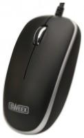 Sweex MI502 Optical Mouse Black-Silver USB