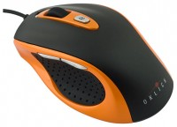 Oklick 404 S Optical Mouse Black-Orange USB