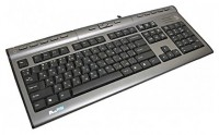 A4Tech KLS-7MUU Silver-Black PS/2