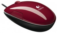 Logitech LS1 Laser Mouse Red USB