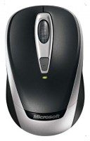 Microsoft Wireless Mobile Mouse 3000 Black USB