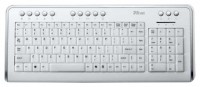 Trust Illuminated Keyboard KB-1500 RU White USB