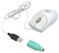Logitech RX250 Optical Mouse White USB+PS/2