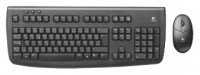 Logitech Cordless Desktop Deluxe 650 Black USB