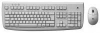 Logitech Cordless Desktop Deluxe 650 White USB
