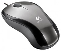 Logitech LX3 Optical Mouse Grey-Black USB+PS/2