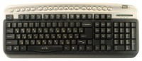 Oklick 320 M Multimedia Keyboard Silver USB+PS/2