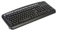 Oklick 320 M Multimedia Keyboard Black USB+PS/2