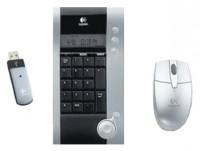 Logitech V250 Cordless Black-Silver USB