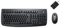 Logitech Cordless Deluxe 660 Black Desktop USB