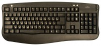 Oklick 340 M Office Keyboard Black USB+PS/2