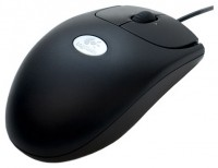 Logitech RX250 Optical Mouse Black USB