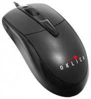 Oklick 125 M Optical Mouse Black PS/2