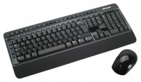 Microsoft Wireless Desktop 3000 BlueTrack Black USB