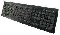 BTC 6311U Ultra Slim Keyboard Black USB