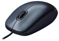 Logitech Mouse M100 Black USB