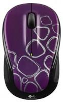 Logitech Wireless Mouse M325 Purple-Black USB