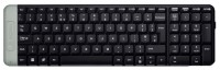 Logitech Wireless Keyboard K230 Black USB