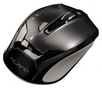 HAMA Wireless Optical Mouse Milano Black USB