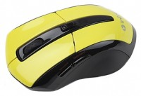 Intro MW207 mouse Wireless Black-Yellow USB