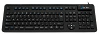 Bliss Flexible Keyboard MFR109L Black USB+PS/2