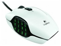 Logitech G600 MMO Gaming Mouse White USB