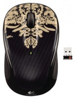 Logitech Wireless Mouse M325 Victorian Wallpaper Black USB