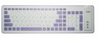 CBR KB 1002D «TWISTER» White-Purple USB
