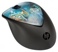 HP H2F43AA X4000 Cowa Bunga Mouse Black-Blue USB