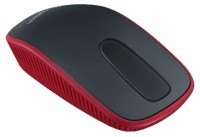 Logitech Zone Touch Mouse T400 Black-Red USB