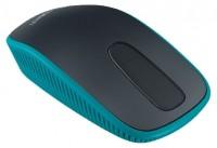 Logitech Zone Touch Mouse T400 Black-Blue USB