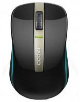 Rapoo Dual-mode Optical Mouse 6610 Black Bluetooth